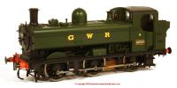 7S-007-003 Dapol 8750 Pannier Tank Steam Locomotive number 9659 in GWR Green livery with GWR lettering