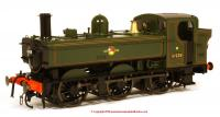 7S-024-004 Dapol 64xx Pannier Tank Steam Locomotive number 6439 in BR Lined Green livery with Late Crest