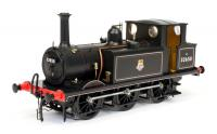 7S-010-012 Dapol A1X Terrier 0-6-0 Steam Locomotive number 32650 in BR Lined Black livery with early emblem