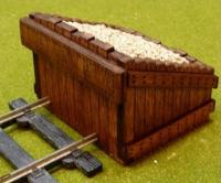 BF-OS-08 Proses O Scale Scale Authentic Wood Buffer Stop Kit (2 in a pack)