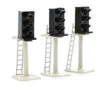 BPGM276 Gaugemaster 3 Aspect Platform Mounted Signals (pack of 3)