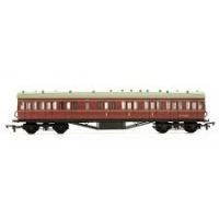 C99A Dapol Stanier 57ft Non Corridor Composite Suburban Coach Kit number M25260M in BR Lined Maroon livery