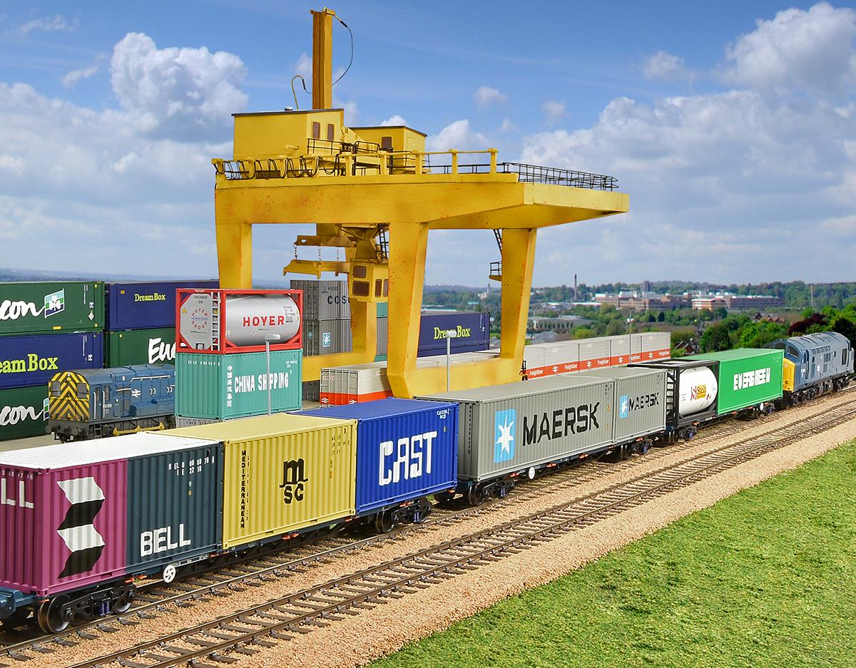 44-0009 Bachmann Scenecraft Container Crane Image