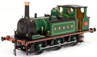 7S-010-013 Dapol A1 Terrier 0-6-0 Steam Locomotive number 751 in SECR Green livery