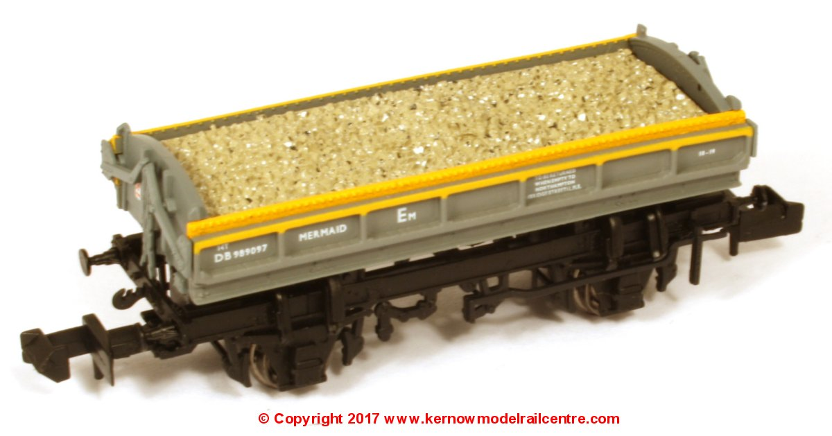 DJM-N-RS-100013A DJ Models ZJV Mermaid Ballast Wagon number DB989097 in BR Dutch Civil Engineers livery