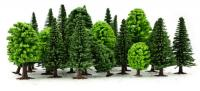 GM121 Gaugemaster Assorted Deciduous & Fir Trees (Pack of 25)