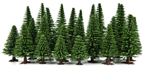 GM122 Gaugemaster 25 x Fir Trees.