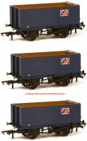 GV6016 Oxford Rail 7 Plank Open Wagon Triple Pack - Allied Steel and Wire
