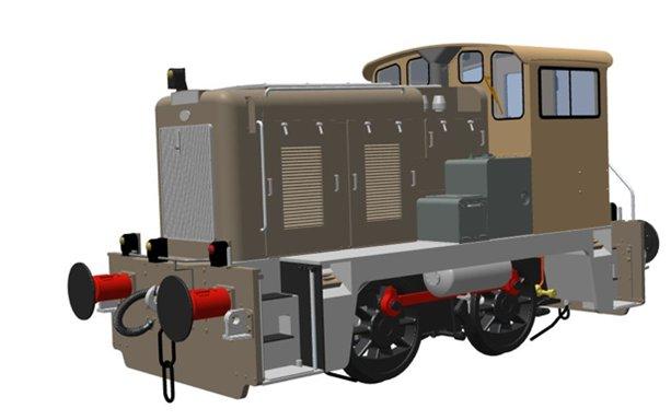 Heljan Class 02 Diesel Image