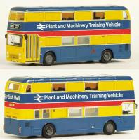 38120 Exclusive First Editions Bristol VRT Double Decker Bus in BR Plant and Machinery Training livery