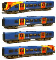 31-041 Bachmann Class 450 4 Car Desiro EMU Set number 450 127 in South West Trains livery with weathered finish