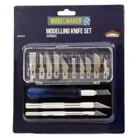 MM003 The ModelMaker Modelling Knife Set (16 pcs)