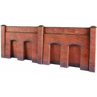 PO244 Metcalfe Retaining Wall - Red Brick