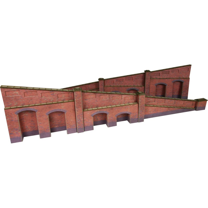 PO248 Metcalfe Tapered Retaining Wall - Brick