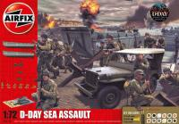 A50156 Airfix D-Day The Sea Assault Gift Set