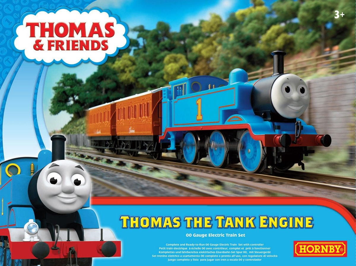 R9283 Hornby Thomas the Tank Train Set Image