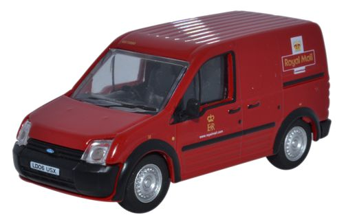 76FTC001 Oxford Diecast Ford Transit Connect in Royal Mail colours