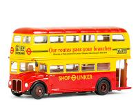 31514 Exclusive First Editions RM Routemaster Double Decker Bus in London Transport Shop Linker livery