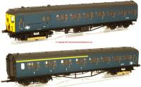 R3341A Hornby 2-HAL 2 Car Electric Multiple Unit Train Pack Set number 2623 in BR Blue livery