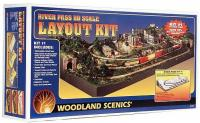 ST1484 Woodland Scenics River Pass Layout Kit