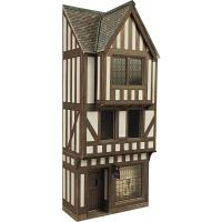 PO421 Metcalfe Low Relief Half Timbered Shop Front kit
