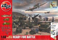 A50172 Airfix Battle of Britain - Ready for Battle Gift Set