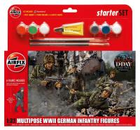 A55120 Airfix WWII German Infantry Multipose Starter Set