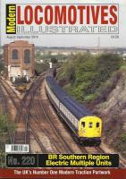 Magazine - Modern Locomotives Illustrated 220 - BR Southern Region Electric Multiple Units