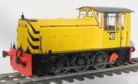 2594 Heljan Class 05 Diesel Shunter in Industrial Dark Blue livery