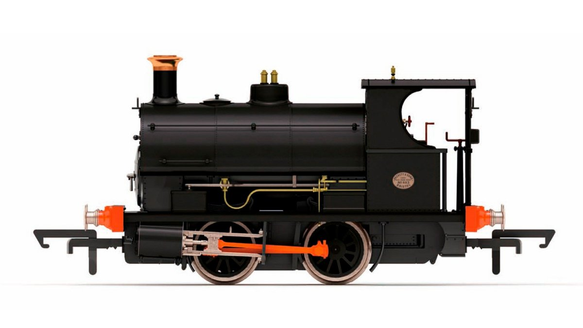 R3550 Hornby Peckett Steam Loco Image
