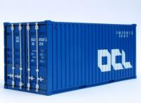 CR54 C Rail 20ft Container number OCLU 075681 in OCL livery