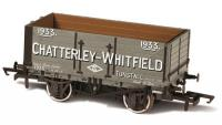 76MW7028 Oxford Rail 7 Plank Open Wagon number 1933 - Chatterley Whitfield Tunstall