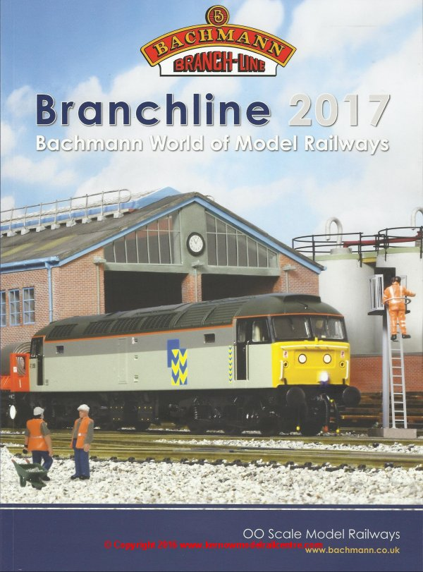 Catalogue - Bachmann Branchline Catalogue 2017 - Item ref 36-2017