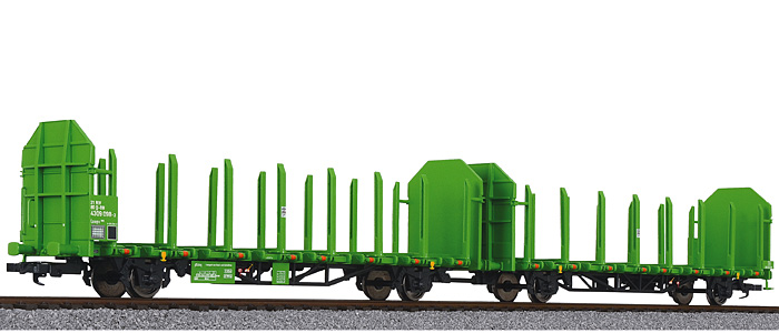 L235240 Liliput Timber Carrier Wagon Laaps 565