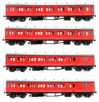 LHT-624 Dapol Suburban B 4 Coach Set BR London Divison