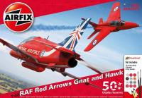 A50159 Airfix Red Arrows 50th Display Season Gift Set