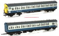 31-380 Bachmann Class 416 2-EPB 2 Car EMU Set number 6262 in BR Blue & Grey livery with NSE branding