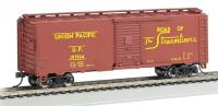 15002 Bachmann 40ft Steam Era Box Car - Union Pacific