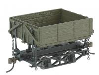 29804 Bachmann On30 Wood Side Dump Cars Green