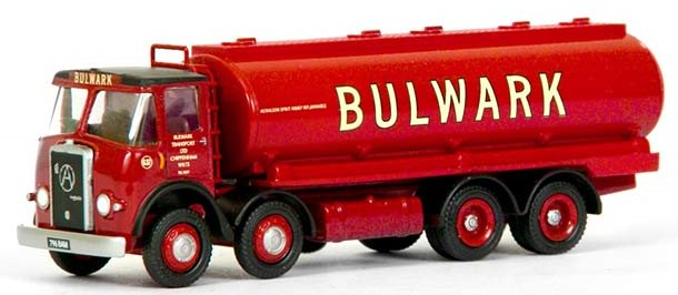 13502 Exclusive First Editions Atkinson 4 Axle Oval Tanker Lorry - Bulwark