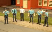 33154 Bachmann O Scale Scenescapes Figures Police