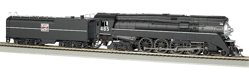 50206 Bachmann GS64 4-8-4 Steam Locomotive number 485 in Western Pacific livery with DCC On Board