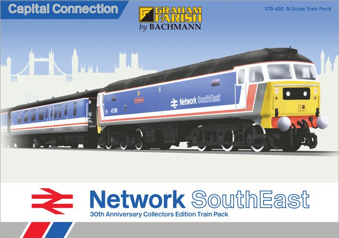 370-430 Bachmann Capital Connection Train Pack Image