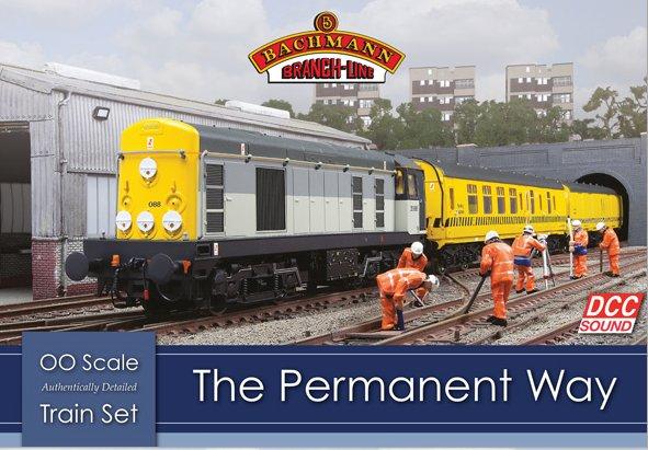 30-049 Bachmann Permanent Way Train Set Image