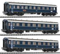 L330501 Liliput Three Coach Set 'Dompfeil' DB Ep.III