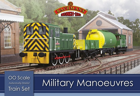 30-130 Bachmann Military Manouvres Train Set Image