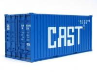 CR53 C Rail 20ft Container number CASU 073199 in Cast livery