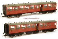 K1003 DJ Models 1914 LSWR Push-Pull Gate Set number 363 in BR Crimson livery
