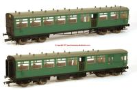 K1004 DJ Models 1914 LSWR Push-Pull Gate Set number 373 in BR (SR) Green livery