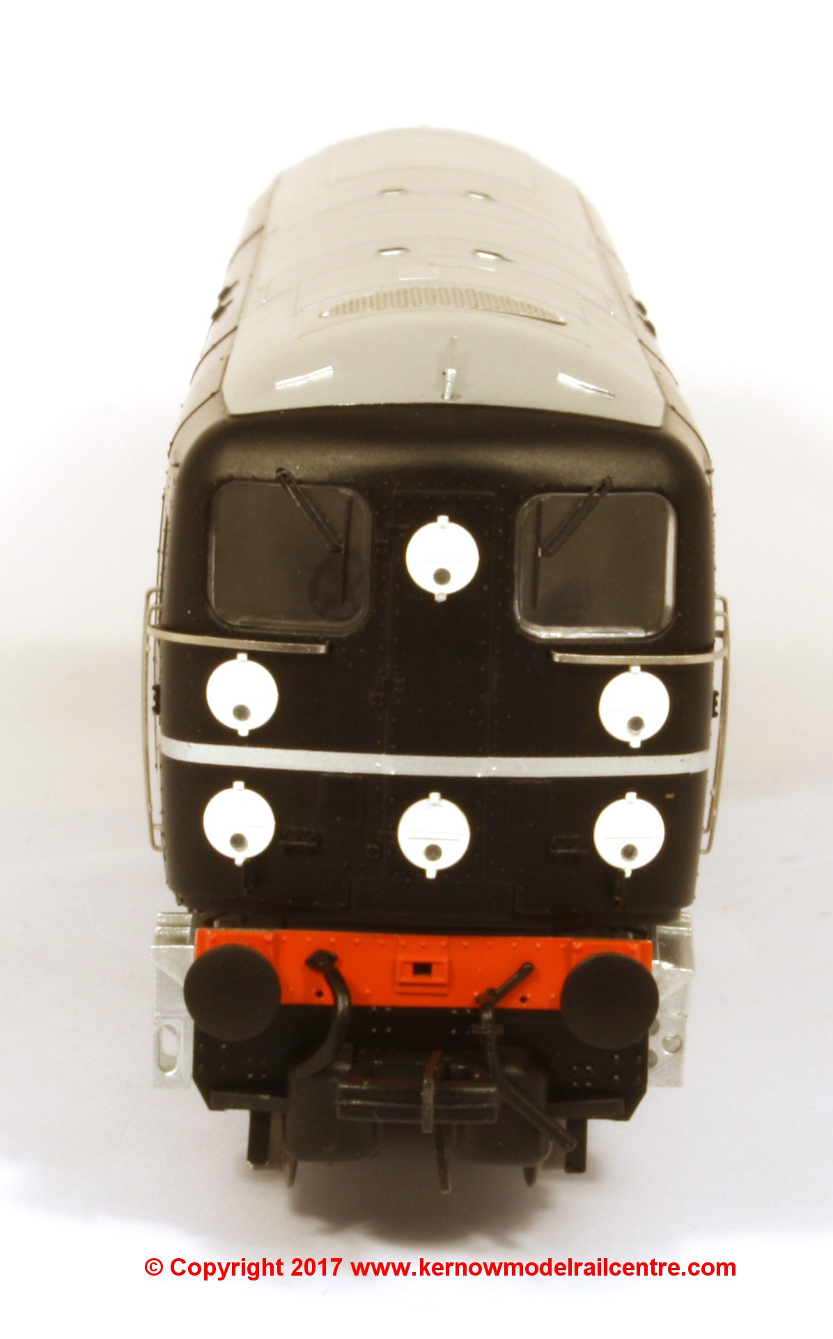 K2701 Bulleid 1-Co-Co-1 Diesel Locomotive number 10201 in BR Black livery with early emblem